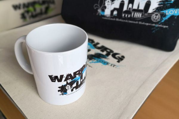 "Tasse ""Warburg - love it"""