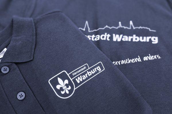 "Polo-Shirts ""Hansestadt Warburg"""