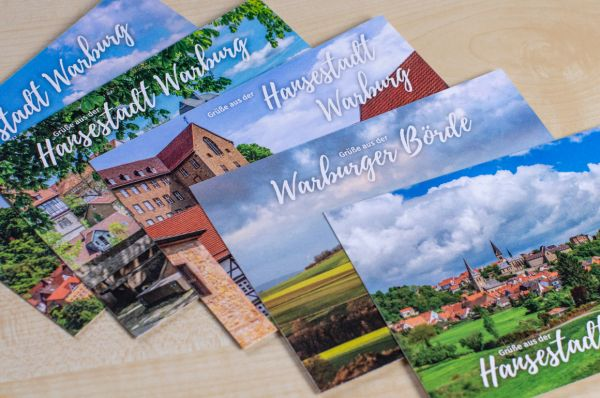 Postkarten-Set im A6-Format