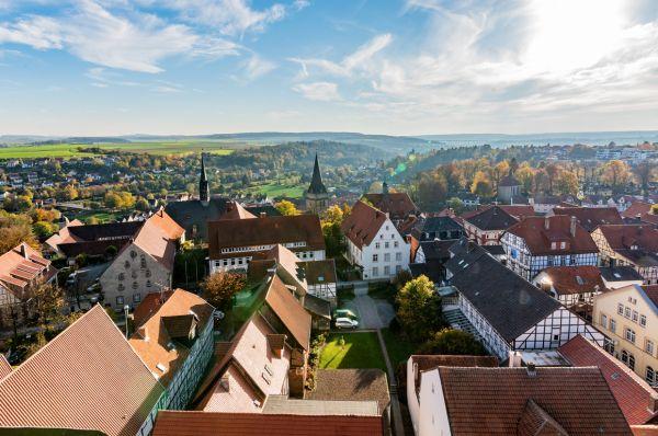 Warburg - Stadt und Umgebung