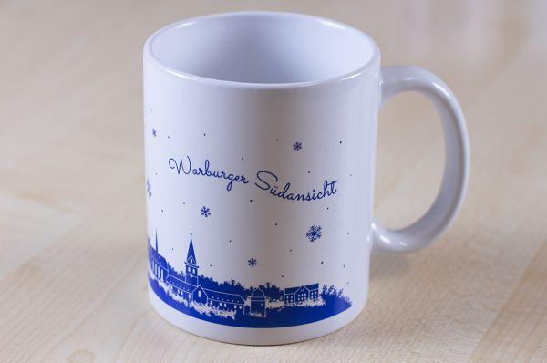 """Weihnachtstasse """"Warburger Südansicht"""""""