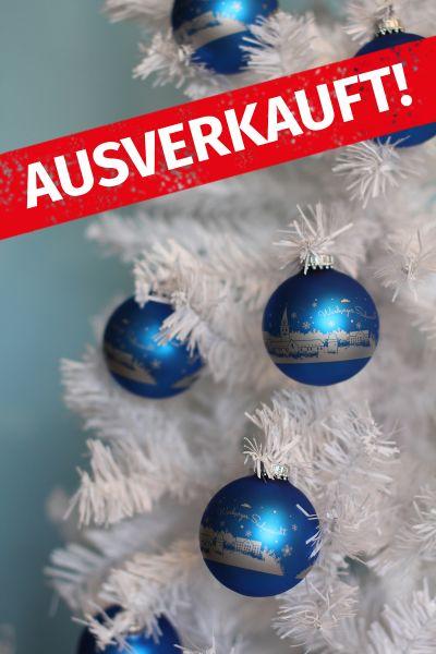 """Weihnachtskugeln """"Hansestadt Warburg"""""""