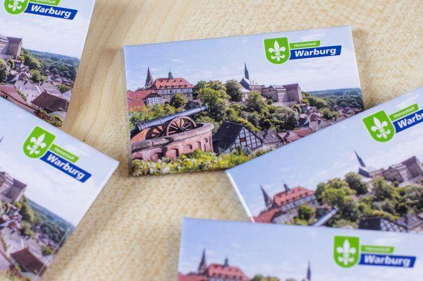 """Kühlschrank-Magnet """"Hansestadt Warburg"""""""