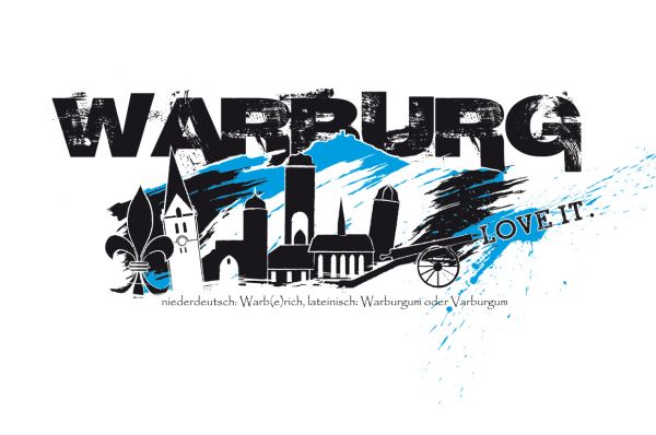 "Druckmotiv ""Warburg - Love it!"