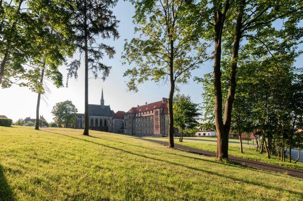 Hansestadt Januar 2019 - Klostergarten-Ansicht