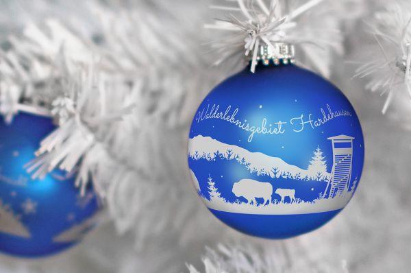"""Weihnachtskugeln """"Hansestadt Warburg - Edition 3"""""""