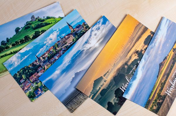 Postkarten-Set im Maxi-Format