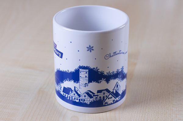 """Weihnachtstasse """"Chattenturm am Burgberg"""""""